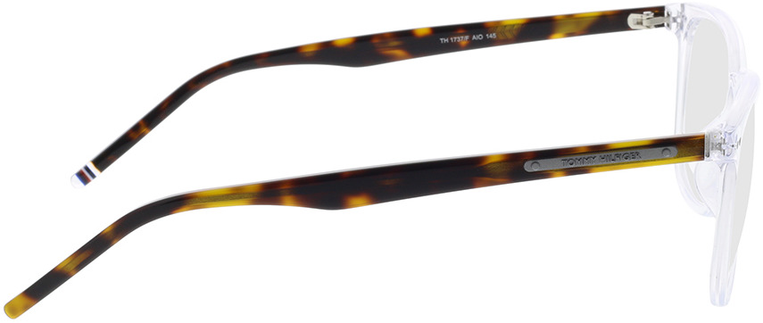 Picture of glasses model Tommy Hilfiger TH 1737/F AIO 54-17 in angle 90