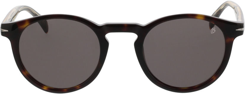 Picture of glasses model David Beckham DB 1036/S 086 49-23 in angle 0