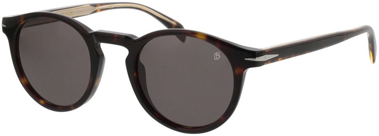 Picture of glasses model David Beckham DB 1036/S 086 49-23 in angle 330