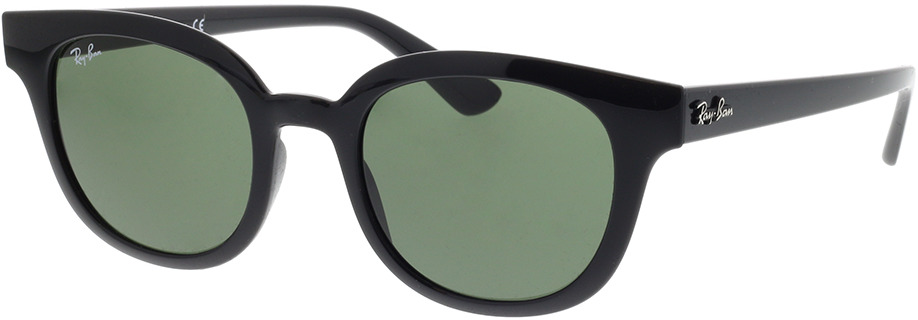 Picture of glasses model Ray-Ban RB4324 601/31 50-21