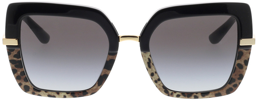 Picture of glasses model Dolce&Gabbana DG4373 32448G 52-21 in angle 0