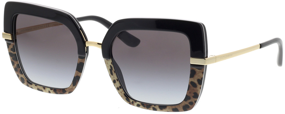 Picture of glasses model Dolce&Gabbana DG4373 32448G 52-21 in angle 330