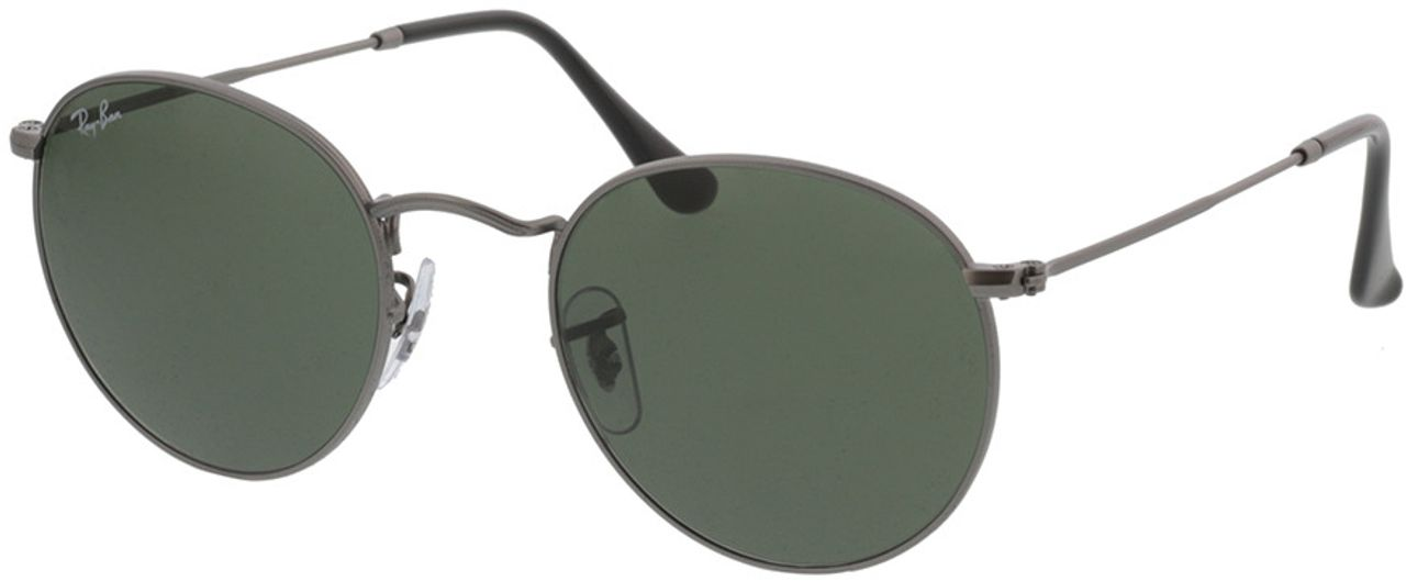 Picture of glasses model Ray-Ban Round Metal RB3447 029 50-21 in angle 330
