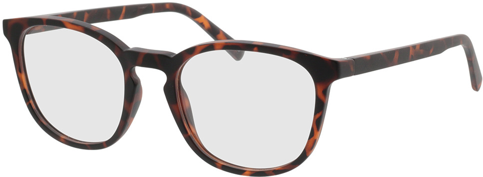 Picture of glasses model Ivy-braun-meliert in angle 330