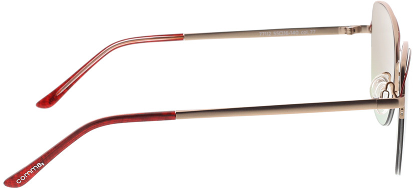 Picture of glasses model Comma, 77112 77 55-16 in angle 90