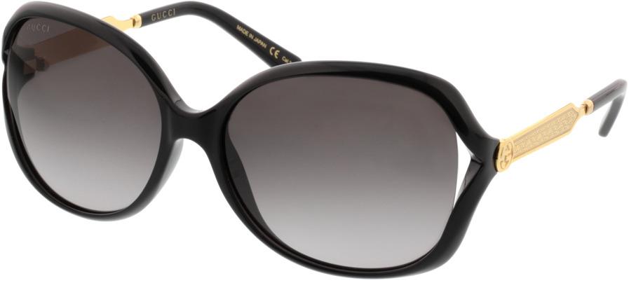 Picture of glasses model Gucci GG0076S-002 60-16