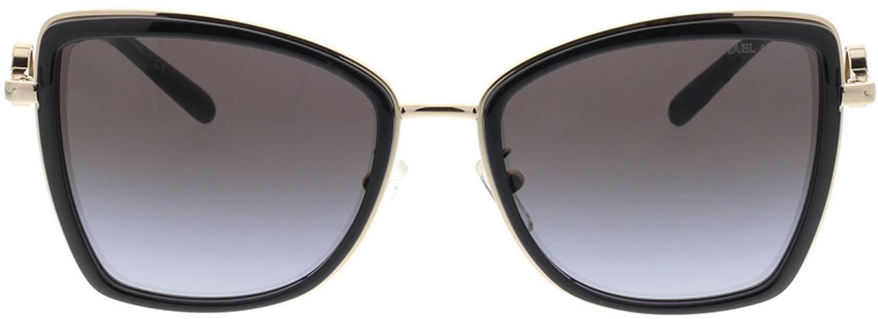 Picture of glasses model Michael Kors Corsica MK1067B 10148G 55-18 in angle 0