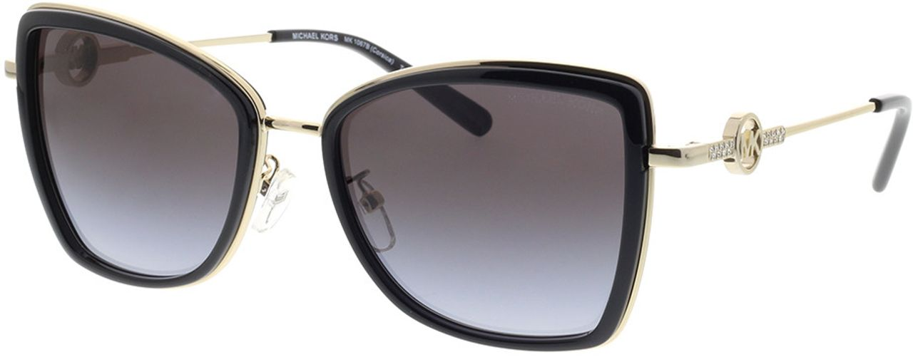 Picture of glasses model Michael Kors Corsica MK1067B 10148G 55-18 in angle 330