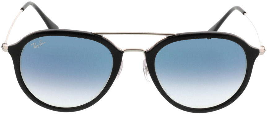 Picture of glasses model Ray-Ban RB4253 62923F 53-21 in angle 0