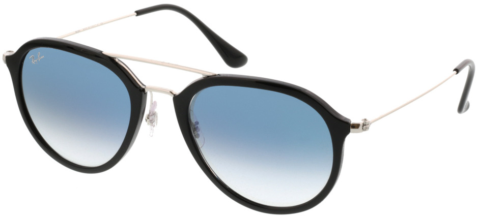 Picture of glasses model Ray-Ban RB4253 62923F 53-21 in angle 330