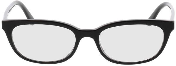 Picture of glasses model Prada Catwalk PR 13VV 1AB1O1 53-17 in angle 0