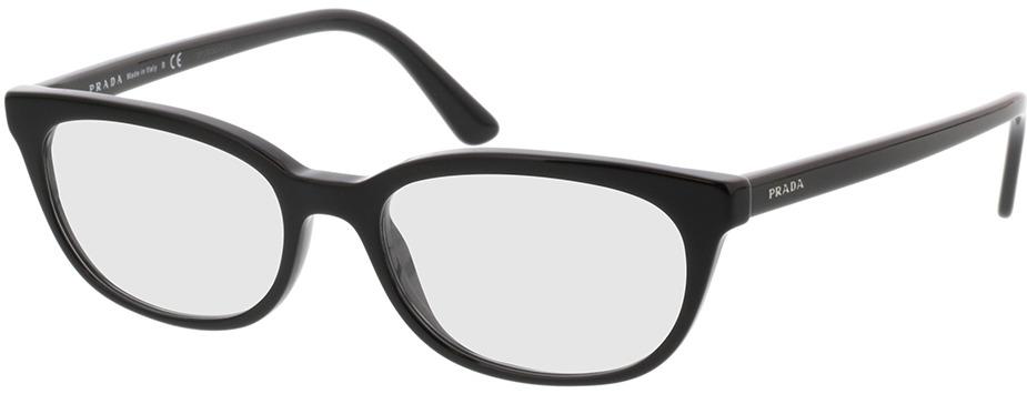 Picture of glasses model Prada Catwalk PR 13VV 1AB1O1 53-17 in angle 330