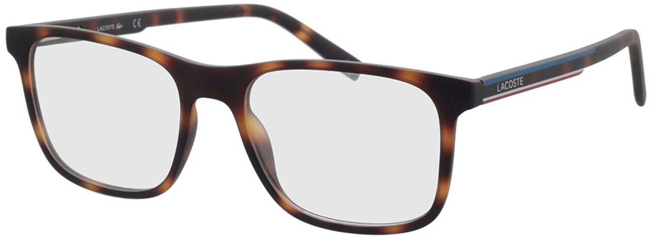 Picture of glasses model Lacoste L2848 214 53-18 in angle 330