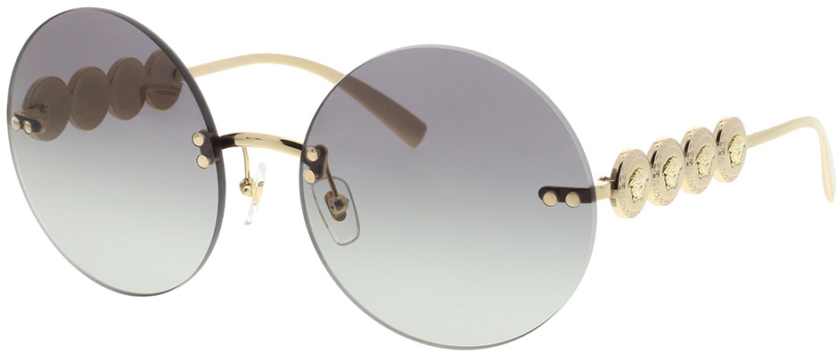 Picture of glasses model Versace VE2214 100211 59-18 in angle 330