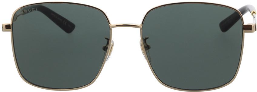 Picture of glasses model Gucci GG0852SK-001 58-17 in angle 0