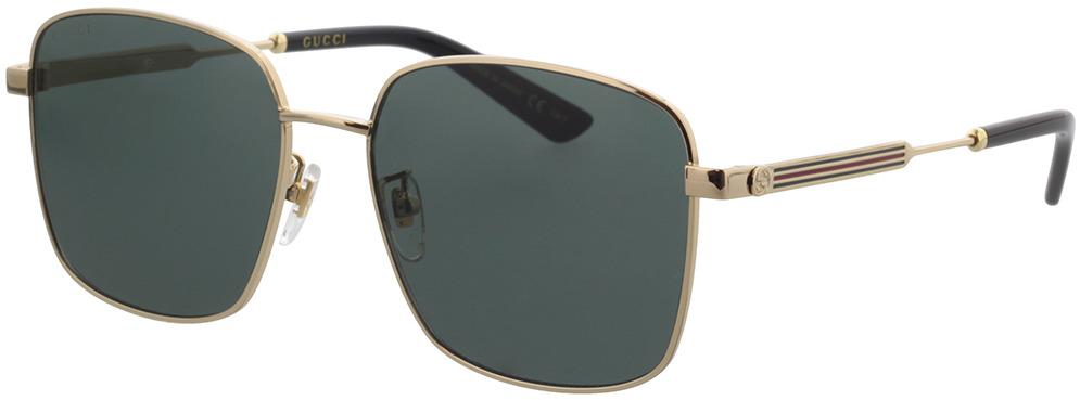 Picture of glasses model Gucci GG0852SK-001 58-17 in angle 330