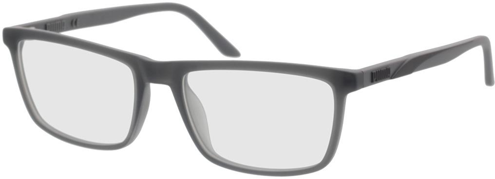 Picture of glasses model Puma PU0347O-003 56-18 in angle 330