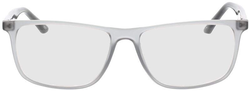 Picture of glasses model Valor-grau-transparent/schwarz in angle 0