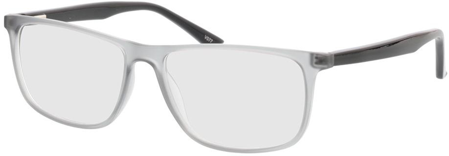 Picture of glasses model Valor-grau-transparent/schwarz in angle 330
