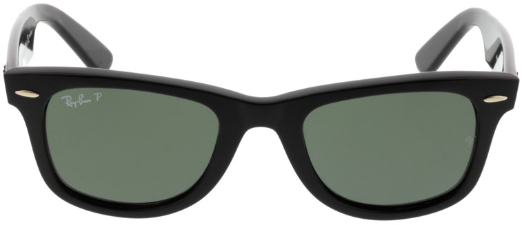 Picture of glasses model Ray-Ban Original Wayfarer RB2140 901/58 50-22 in angle 0