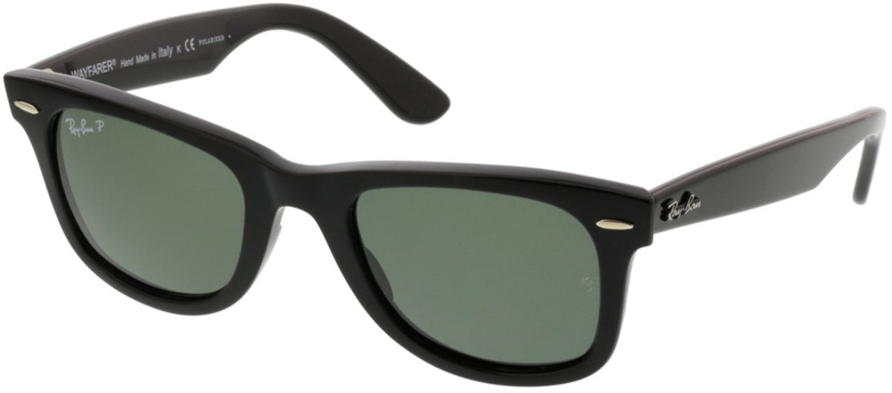 Picture of glasses model Ray-Ban Original Wayfarer RB2140 901/58 50-22 in angle 330