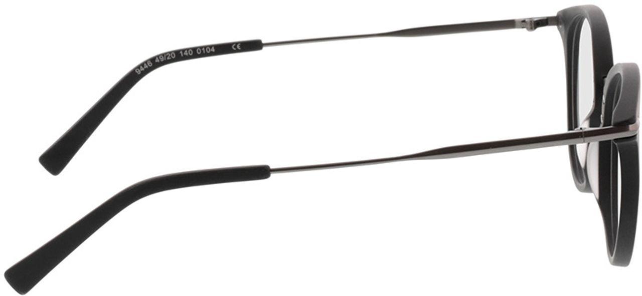 Picture of glasses model Dolina-matt schwarz/matt anthrazit in angle 90