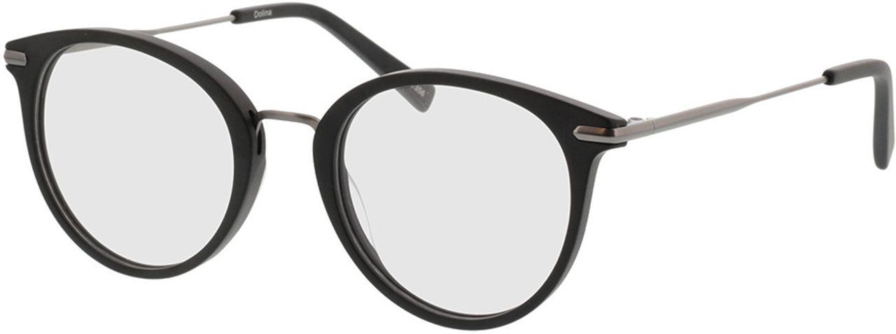 Picture of glasses model Dolina-matt schwarz/matt anthrazit in angle 330
