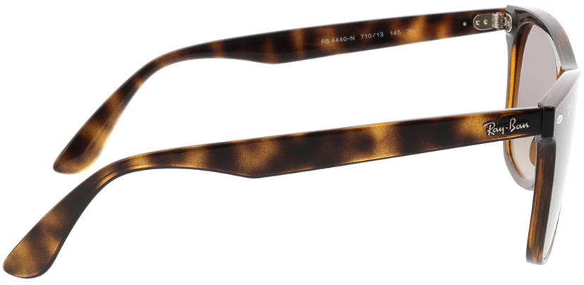 Picture of glasses model Ray-Ban Blaze Wayfarer RB4440N 710/13 41-141 in angle 90