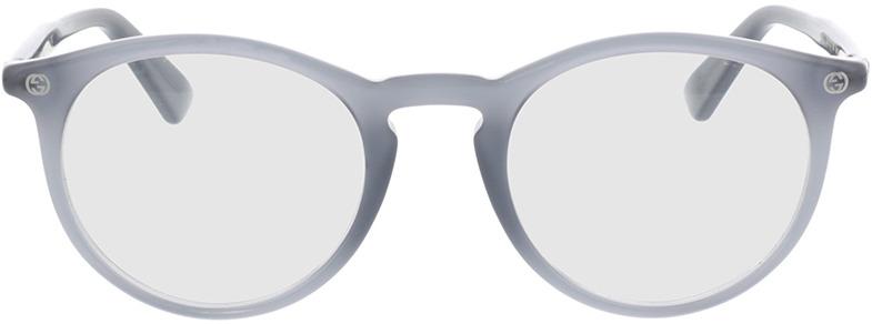 Picture of glasses model Gucci GG0121O-005 49-21 in angle 0