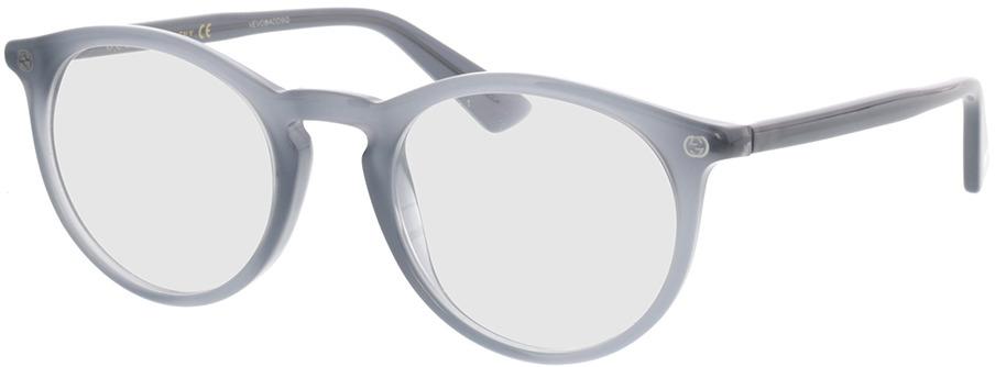 Picture of glasses model Gucci GG0121O-005 49-21 in angle 330
