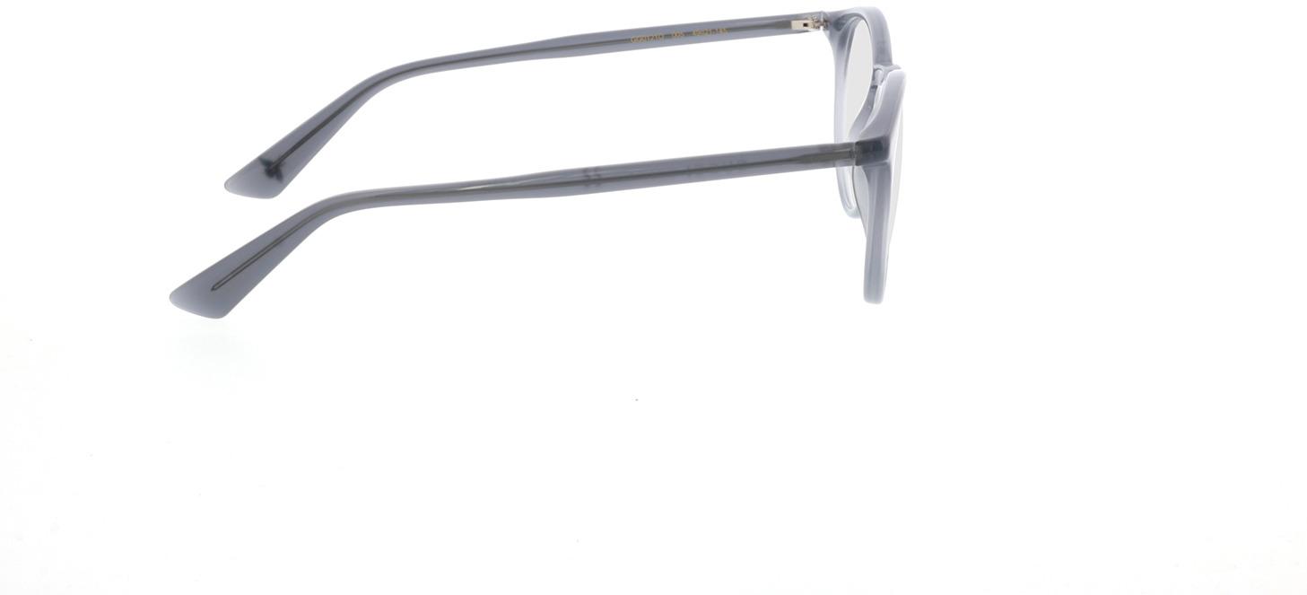 Picture of glasses model Gucci GG0121O-005 49-21 in angle 90