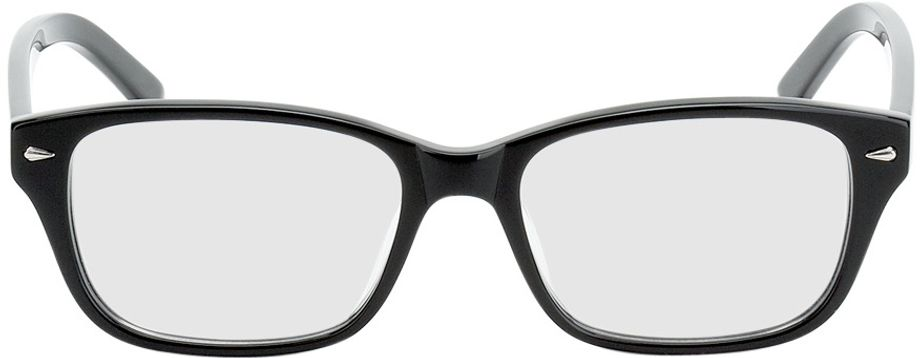 Picture of glasses model Santos Size S black in angle 0
