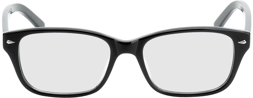 Picture of glasses model Santos Size S zwart in angle 0