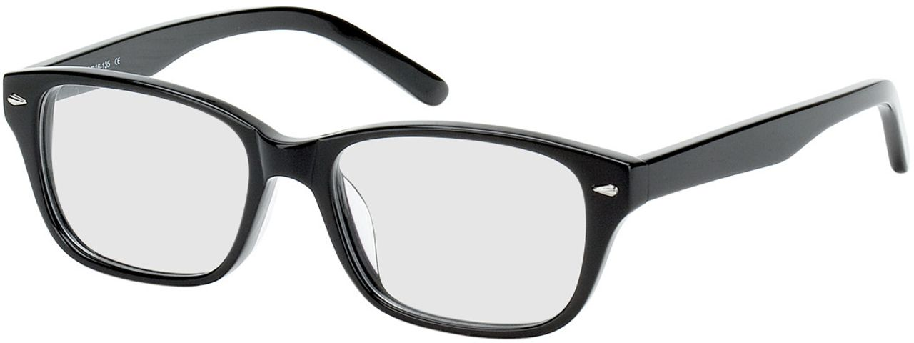 Picture of glasses model Santos Size S black in angle 330