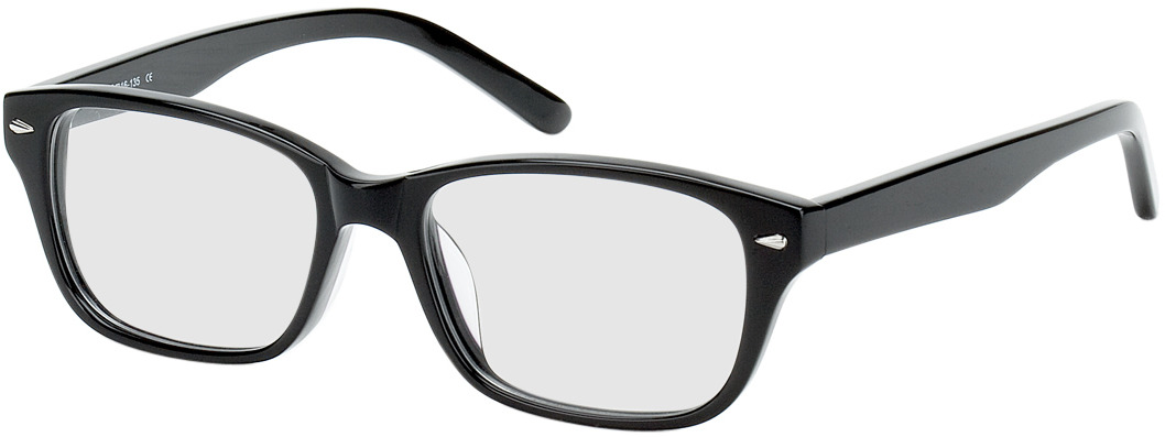 Picture of glasses model Santos Size S zwart in angle 330