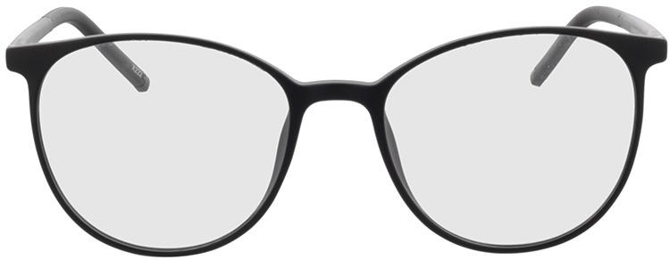 Picture of glasses model Conroe-matt schwarz in angle 0