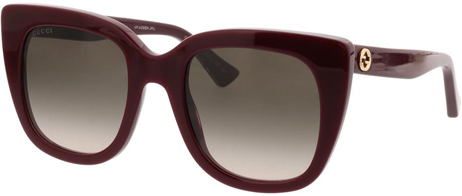 Picture of glasses model Gucci GG0163S-007 51-22