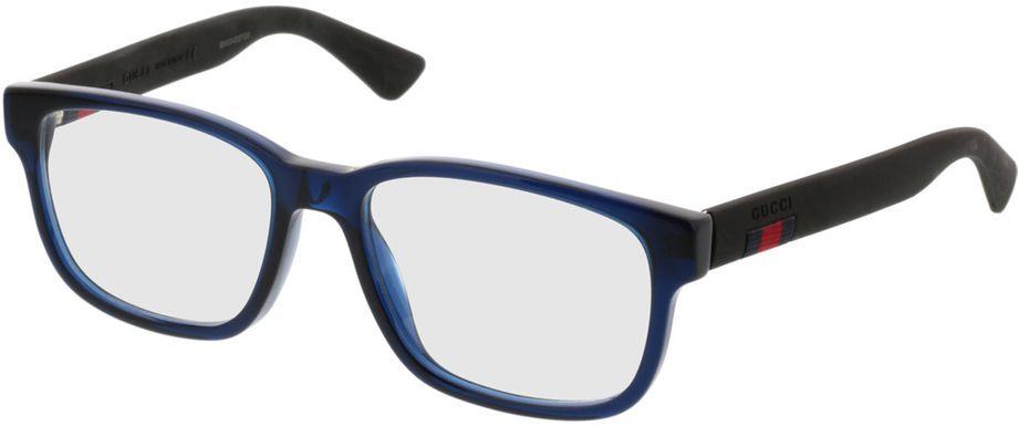 Picture of glasses model Gucci GG0011O-004 53-17 in angle 330