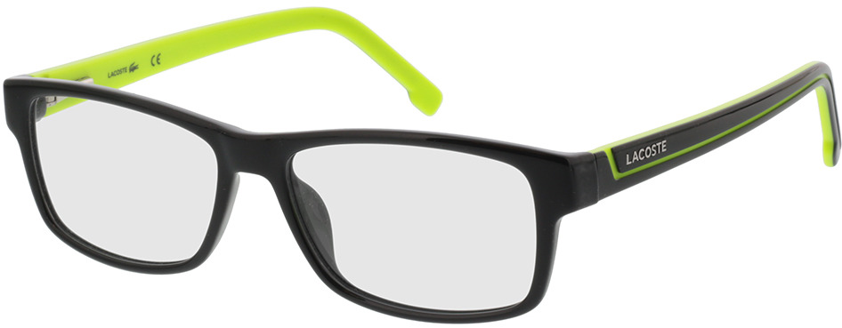 Picture of glasses model Lacoste L2707 003 53-15 in angle 330