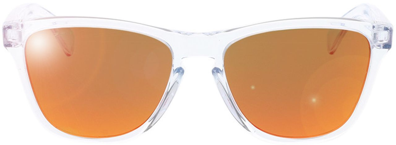Picture of glasses model Oakley Frogskins XS OJ9006 900619 53-16 in angle 0