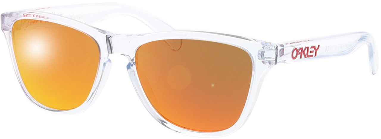 Picture of glasses model Oakley Frogskins XS OJ9006 900619 53-16 in angle 330