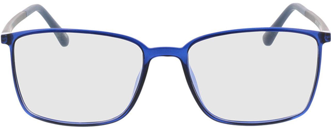 Picture of glasses model Elvas-blau-transparent/dunkelblau in angle 0