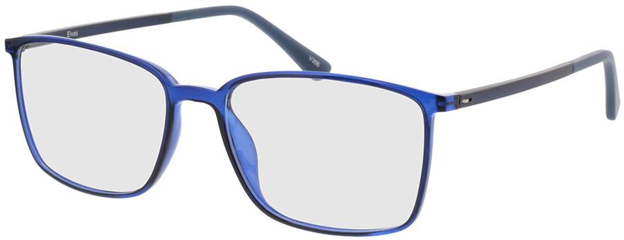 Picture of glasses model Elvas-blau-transparent/dunkelblau in angle 330