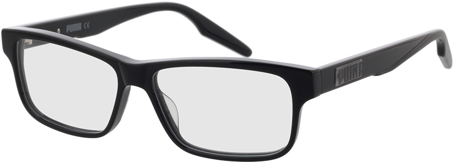Picture of glasses model Puma PU0306O-001 56-14 in angle 330