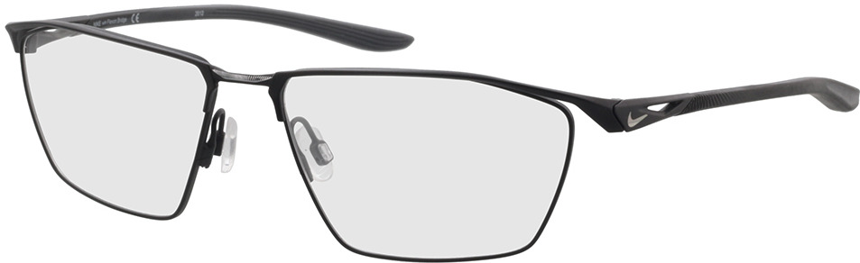 Picture of glasses model Nike NIKE 4312 009 57-16 in angle 330
