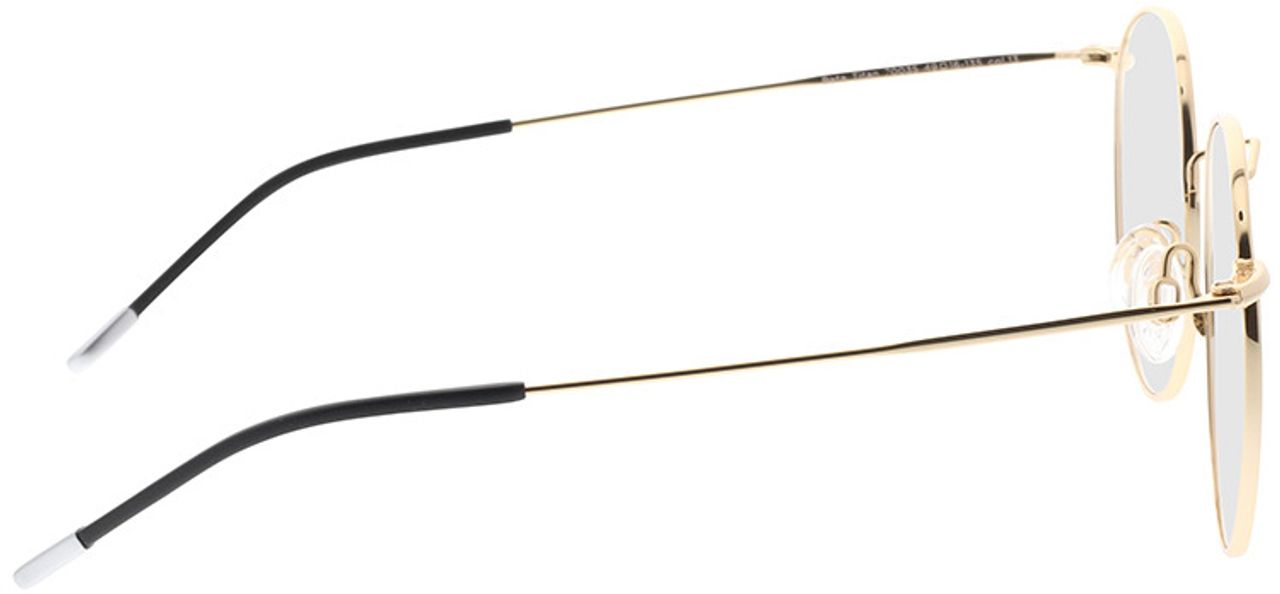 Picture of glasses model Comma, 70035 13 gold 49-16 in angle 90