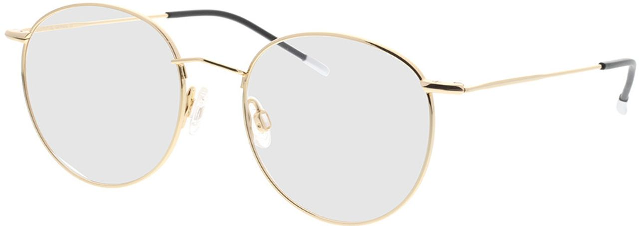 Picture of glasses model Comma, 70035 13 gold 49-16 in angle 330