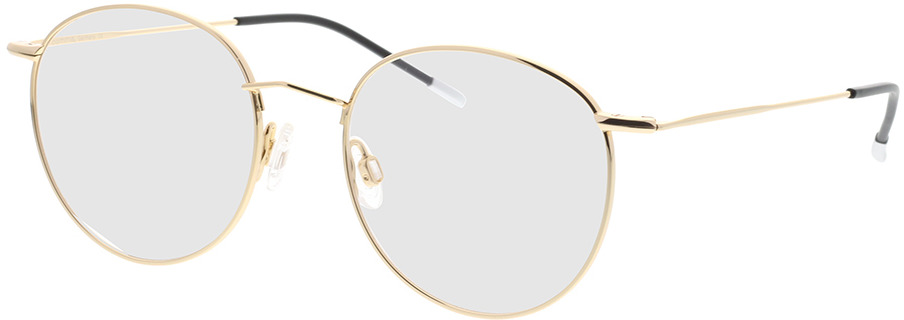 Picture of glasses model Comma, 70035 13 Goud 49-16 in angle 330