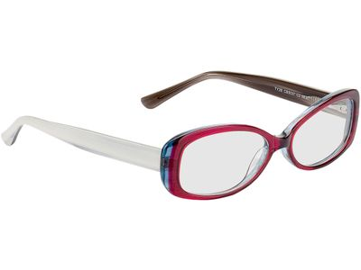 Brille Oceanside-transparent pink/grau