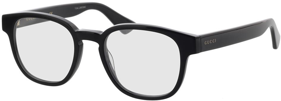Picture of glasses model Gucci GG0927O-003 49-19 in angle 330